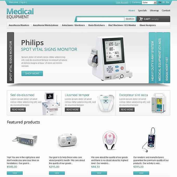 医疗器械外贸网站